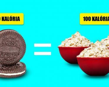 Mutatjuk, hogy néz ki 100 kalória 22 népszerű ételben