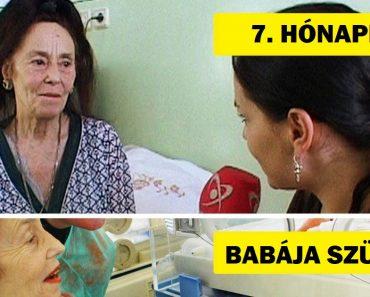 Ismerd meg a nő történetét, aki 66 éves korában szült, és azóta is szembenéz a társadalom elutasításával