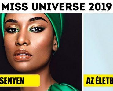 """15 """"Miss Universe 2019"""" versenyző, aki nem fél smink nélkül megjelenni"""