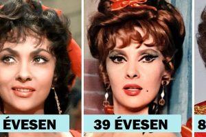 Így nézett ki a múlt 17 népszerű szépsége különböző életkorokban, bizonyítva, hogy bájuk időtlen