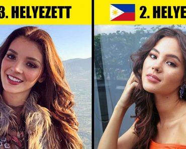 A szakértők meghatározták azt a 18 országot, ahol a világ legszebb női élnek