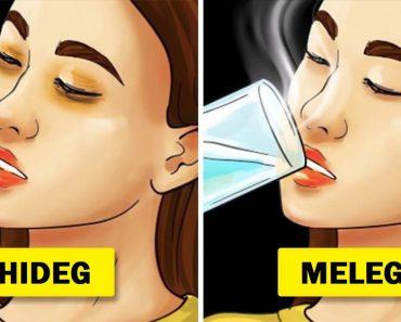 Mi történhet a bőröddel, ha minden nap meleg vizet iszol