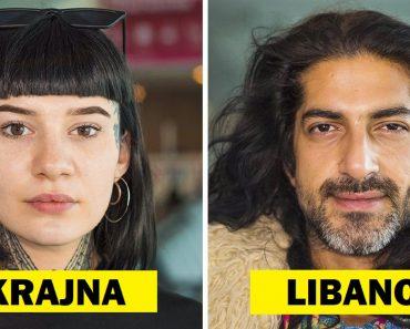 Egy repülőtéri alkalmazott lefényképezi a világ minden tájáról származó utazókat, akikkel találkozik, hogy megmutassa a sokszínűség szépségét