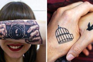 15+ tetoválás, amelyek megmutatják, milyen kreatív lehetsz tintával