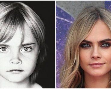 Így nézett ki 12 híres modell gyermekkorában