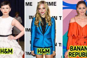 15 alkalom, amikor a hírességek tömegpiaci ruhákat viseltek a vörös szőnyegen és mesésen néztek ki