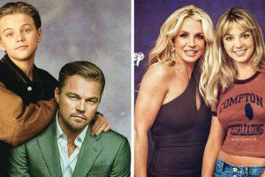 Egy művész lehetővé teszi az időutazást azzal, hogy hírességeket Photoshopol fiatalabb énjük mellé