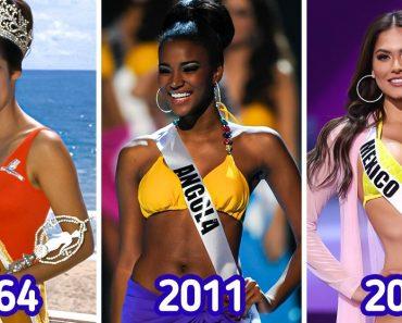 15 kép, ami megmutatja, hogyan változtak a szépségnormák az évek során a Miss Universe szerint