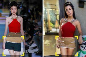 20+ dizájner ruha, amelyek kicsit másképp néznek ki a hírességeken, mint a topmodelleken