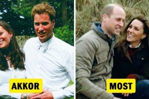 Így nézett ki 14 királyi pár közös útjuk kezdetén