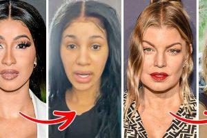 15+ híresség, akik megmutatták, hogyan néznek ki smink nélkül, és hagyták, hogy természetes szépségük ragyogjon