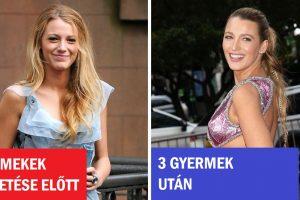 15 híresség, akik még szebbek lettek szülés után